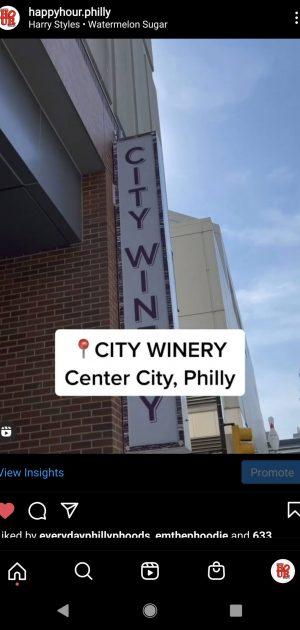City Winery Reel