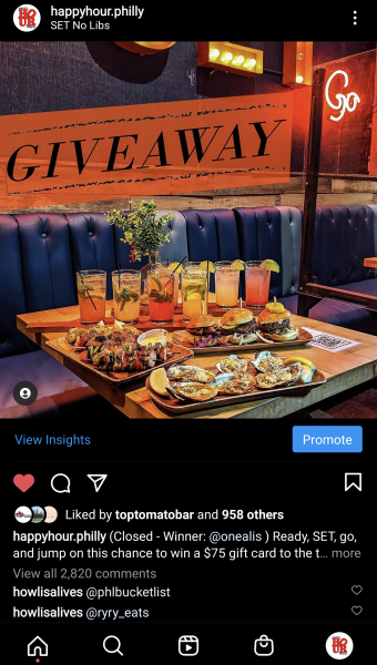 Happy Hour Philly Giveaway